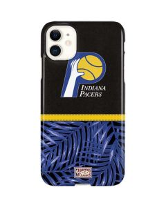 Indiana Pacers Retro Palms iPhone 11 Lite Case