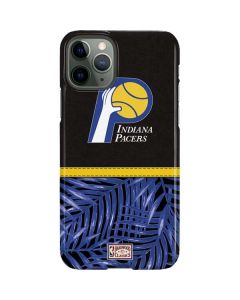 Indiana Pacers Retro Palms iPhone 11 Pro Lite Case