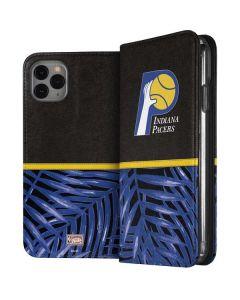 Indiana Pacers Retro Palms iPhone 11 Pro Max Folio Case