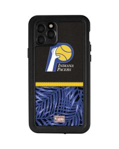 Indiana Pacers Retro Palms iPhone 11 Pro Waterproof Case