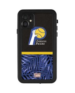 Indiana Pacers Retro Palms iPhone 11 Waterproof Case