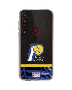 Indiana Pacers Retro Palms Moto G8 Plus Clear Case