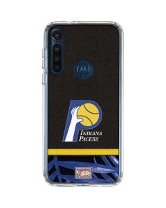 Indiana Pacers Retro Palms Moto G8 Power Clear Case