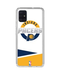Indiana Pacers Split Galaxy A51 Clear Case
