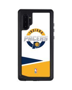 Indiana Pacers Split Galaxy Note 10 Plus Waterproof Case