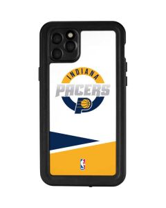 Indiana Pacers Split iPhone 11 Pro Max Waterproof Case