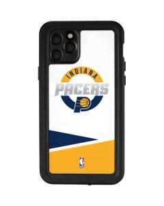 Indiana Pacers Split iPhone 11 Pro Waterproof Case