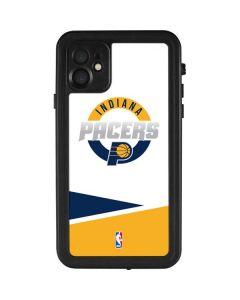 Indiana Pacers Split iPhone 11 Waterproof Case