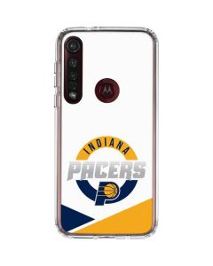 Indiana Pacers Split Moto G8 Plus Clear Case