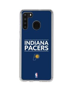 Indiana Pacers Standard - Blue Galaxy A21 Clear Case