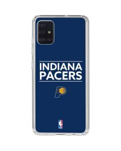 Indiana Pacers Standard - Blue Galaxy A51 Clear Case