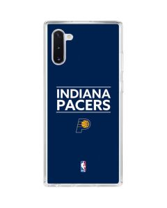 Indiana Pacers Standard - Blue Galaxy Note 10 Clear Case