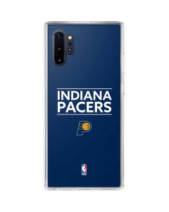 Indiana Pacers Standard - Blue Galaxy Note 10 Plus Clear Case