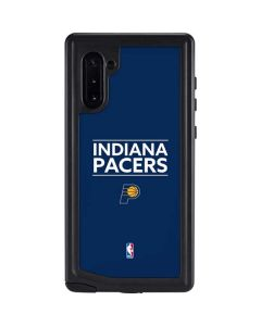 Indiana Pacers Standard - Blue Galaxy Note 10 Waterproof Case