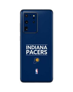 Indiana Pacers Standard - Blue Galaxy S20 Ultra 5G Skin
