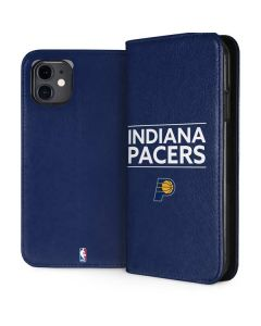 Indiana Pacers Standard - Blue iPhone 11 Folio Case