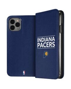 Indiana Pacers Standard - Blue iPhone 11 Pro Folio Case