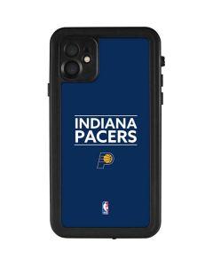Indiana Pacers Standard - Blue iPhone 11 Waterproof Case