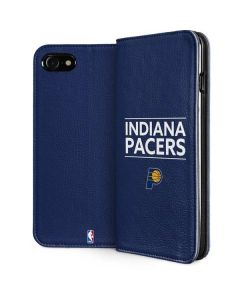 Indiana Pacers Standard - Blue iPhone SE Folio Case