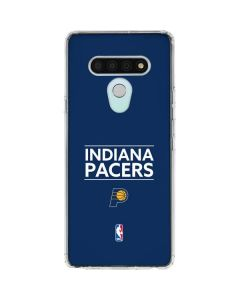 Indiana Pacers Standard - Blue LG Stylo 6 Clear Case