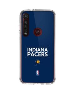 Indiana Pacers Standard - Blue Moto G8 Plus Clear Case