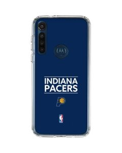Indiana Pacers Standard - Blue Moto G8 Power Clear Case