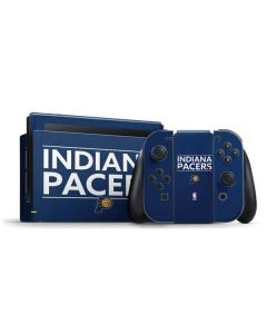 Indiana Pacers Standard - Blue Nintendo Switch Bundle Skin