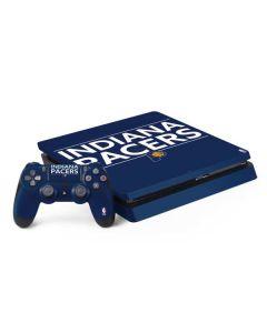 Indiana Pacers Standard - Blue PS4 Slim Bundle Skin