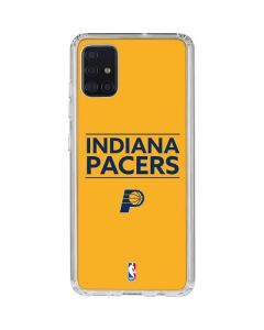 Indiana Pacers Standard - Yellow Galaxy A51 Clear Case