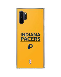 Indiana Pacers Standard - Yellow Galaxy Note 10 Plus Clear Case