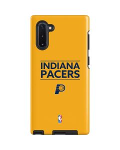Indiana Pacers Standard - Yellow Galaxy Note 10 Pro Case
