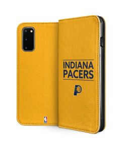 Indiana Pacers Standard - Yellow Galaxy S20 Folio Case