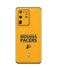 Indiana Pacers Standard - Yellow Galaxy S20 Ultra 5G Skin