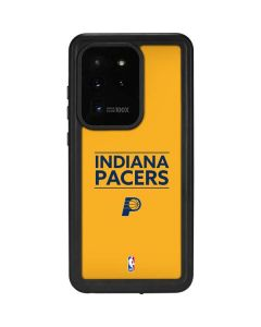 Indiana Pacers Standard - Yellow Galaxy S20 Ultra 5G Waterproof Case