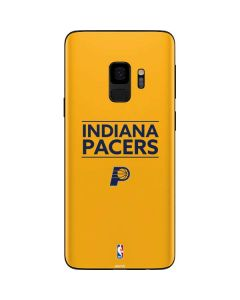 Indiana Pacers Standard - Yellow Galaxy S9 Skin