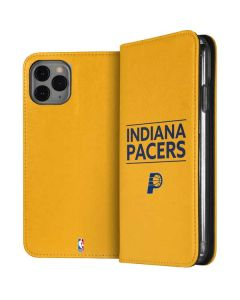 Indiana Pacers Standard - Yellow iPhone 11 Pro Folio Case