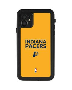 Indiana Pacers Standard - Yellow iPhone 11 Waterproof Case