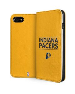 Indiana Pacers Standard - Yellow iPhone SE Folio Case