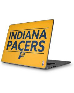 Indiana Pacers Standard - Yellow Apple MacBook Pro 17-inch Skin