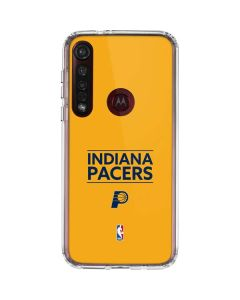 Indiana Pacers Standard - Yellow Moto G8 Plus Clear Case