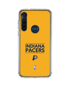 Indiana Pacers Standard - Yellow Moto G8 Power Clear Case