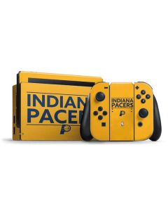 Indiana Pacers Standard - Yellow Nintendo Switch Bundle Skin