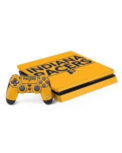 Indiana Pacers Standard - Yellow PS4 Slim Bundle Skin