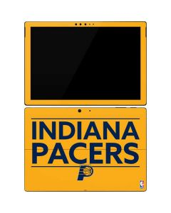 Indiana Pacers Standard - Yellow Surface Pro 7 Skin