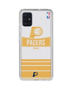 Indiana Pacers Static Galaxy A51 Clear Case
