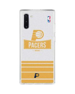 Indiana Pacers Static Galaxy Note 10 Clear Case