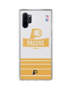 Indiana Pacers Static Galaxy Note 10 Plus Clear Case
