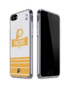 Indiana Pacers Static iPhone SE Clear Case