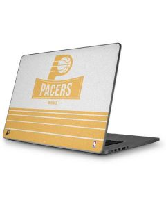 Indiana Pacers Static Apple MacBook Pro 17-inch Skin