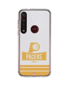 Indiana Pacers Static Moto G8 Plus Clear Case